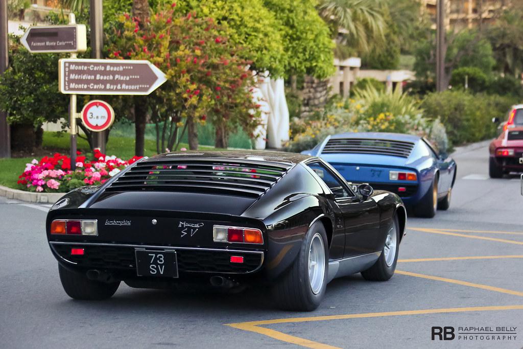 Lamborghini Miura Sv Raphael Belly Flickr