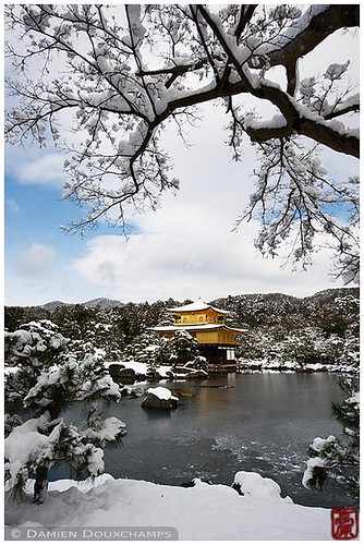 Kinkaku-ji in winter, Kyoto, Japan | by Damien Douxchamps