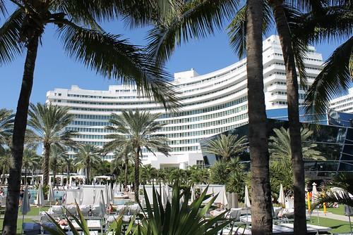 Fontainebleau Miami Beach Hotel Morris Lapidus 1954   by Phillip Pessar