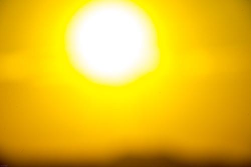 sunset sun moon december 日本 hdr 千葉県 師走 鴨川市 師走の落日