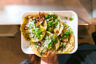 (El Flaco) Al Pastor Tacos | by City Foodsters