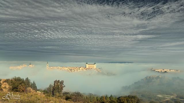La niebla envuelve Toledo