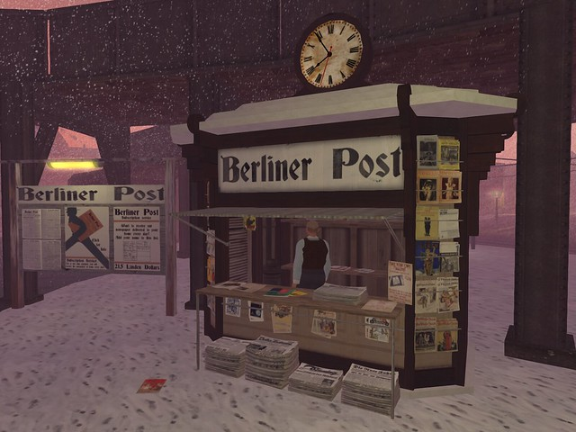 The 1920s Berlin Project - Berliner Post Newstand