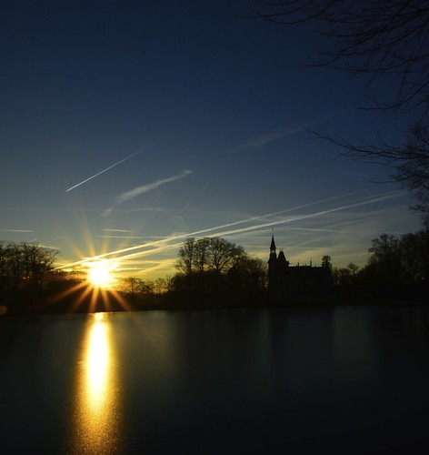 sun castle sunrise nikon belgium belgië tamron flanders kasteel torhout vlaanderen daertrycke aartrijke
