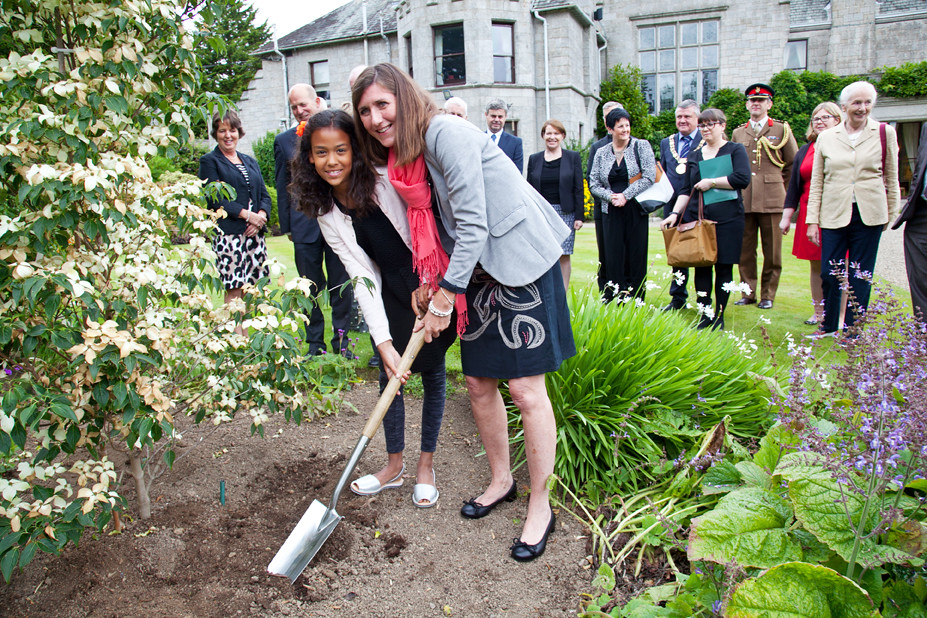 Remembering Christopher Ewart-Biggs | Tree planting ceremony… | Flickr