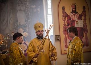 Литургия в Ильинском соборе 420