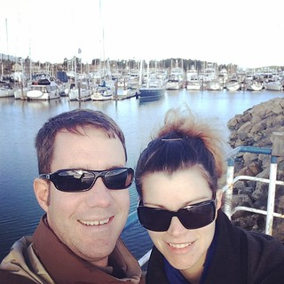 Hanging in Sydney harbour before our ferry. #thewifehatesselfies | by chrisofdavies