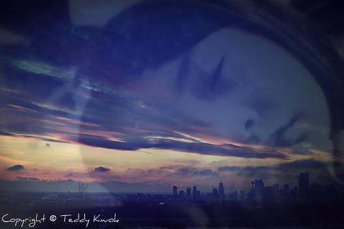 Sleepless in Calgary (Double Exposure) | by Teddy Kwok