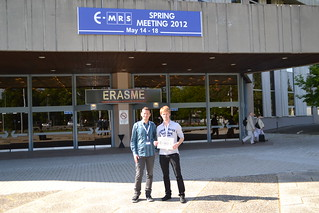E-MRS 2012 Spring Meeting, Strasbourg Congress Centre, May 14-15, 2014