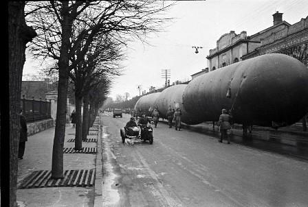 Globos para la defensa aérea de Moscú (1941)