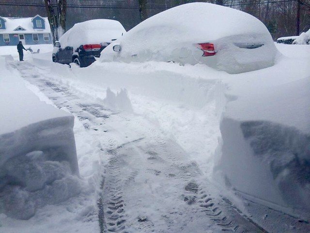 Various photos from around New England of Winter Storm Juno. 1/26/15 - 1/27/15.
