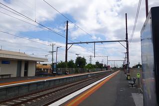 Aspendale train station taken off peak