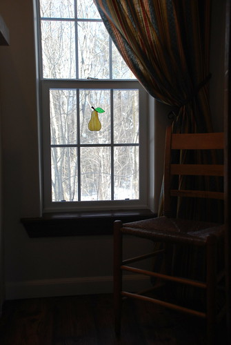 Stained Glass Pear | by A Storybook Life