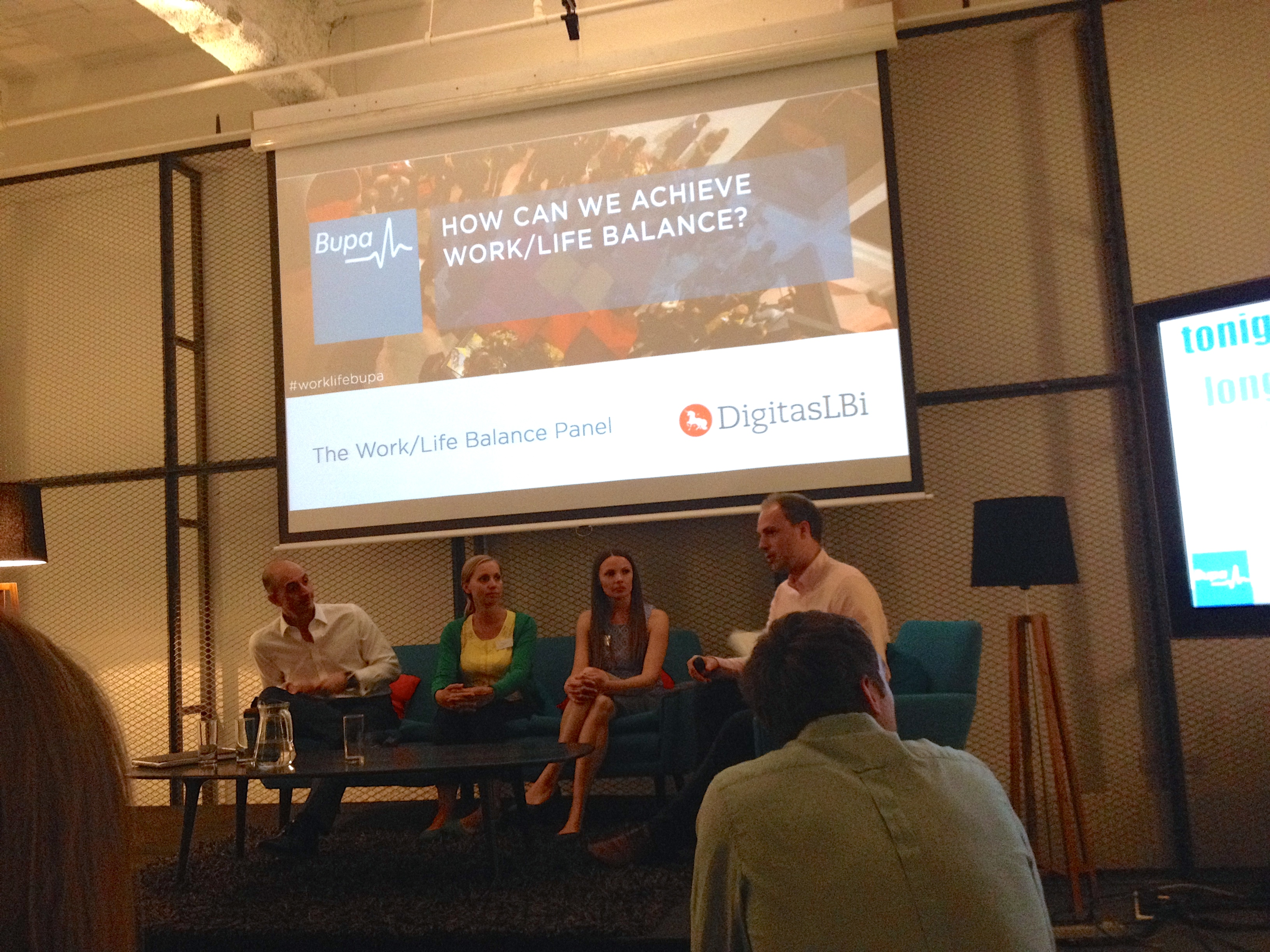 5 Steps to Well Being: An event with #worklifebupa