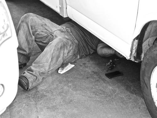 mechanic | by Mark Ittleman