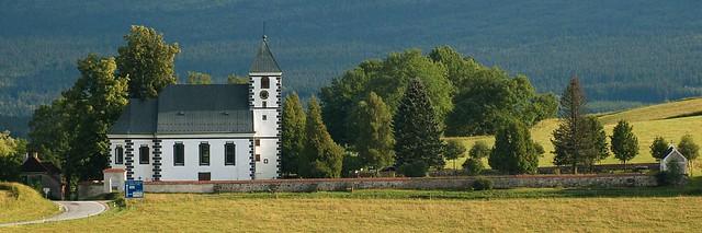 Želnava - kostel sv. Jakuba
