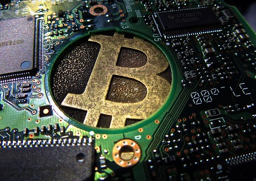 "Bitcoin Circuit Board 2.5"" HD_2206 | by btckeychain"