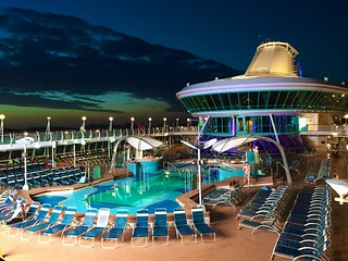 Pool deck on Splendour of the Seas | by Daniel Dudek
