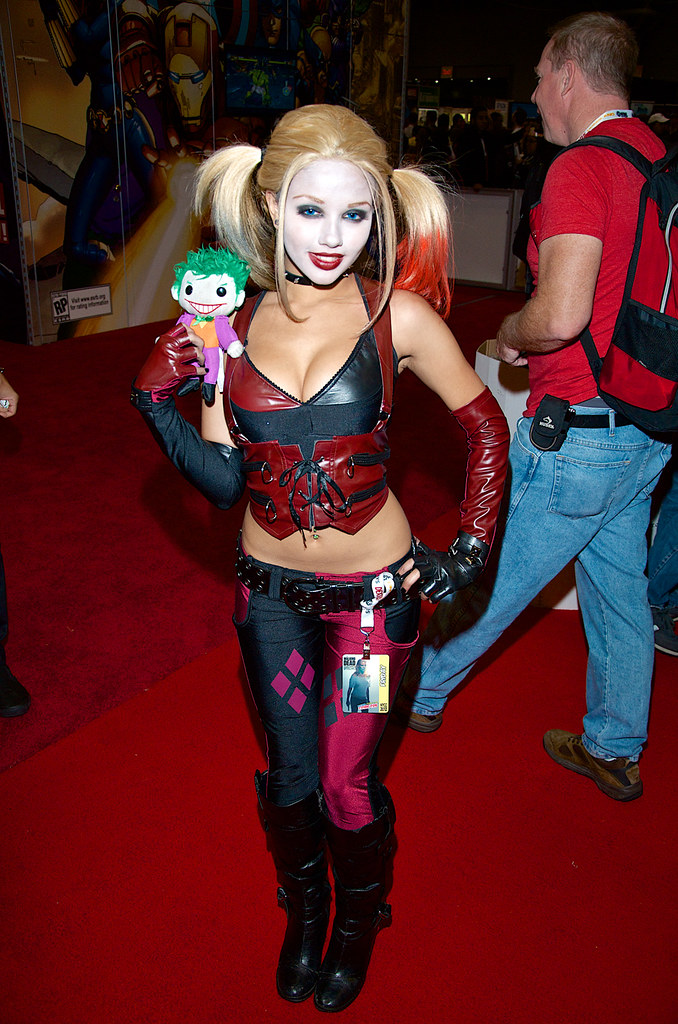 Image result for harley quinn cosplay