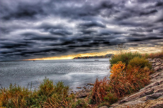 Port Colborne Ontario ~ Canada ~ View of Lake Erie At Sunset