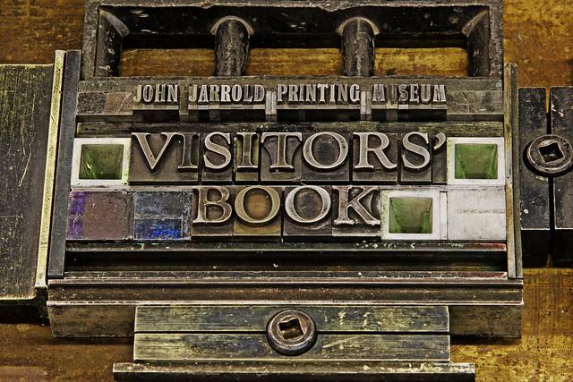 Museum Visitors' Book