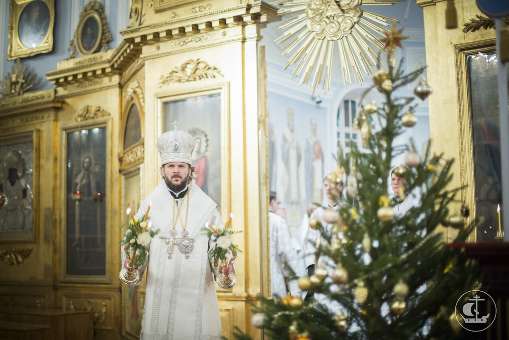 6 января 2015, Всенощное бдение в канун Рождества Христова / 6 January 2015, Vigil on the eve of the Nativity according to the Flesh of Our Lord, God, and Savior Jesus Christ
