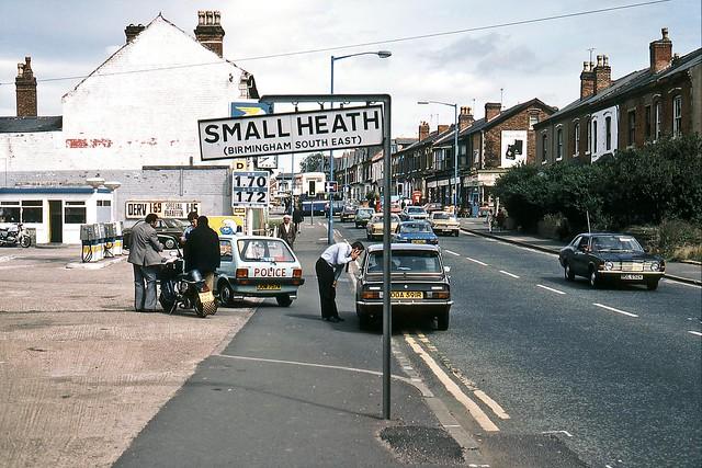 Golden Hillock Road, Birmingham, August 1982