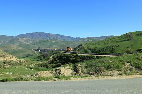 california ge bnsf generalelectric dash9 tunneltwo