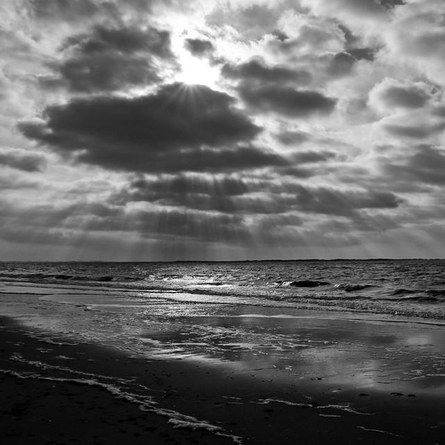 Langeoog - North Sea - Rays of light I