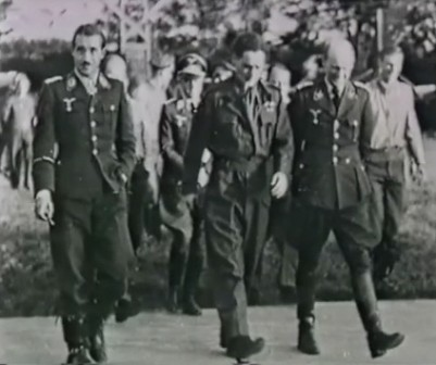 Adolf Galland y Douglas Bader
