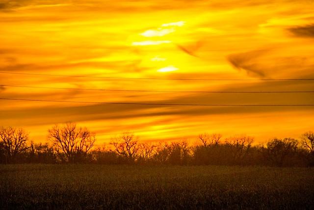 031315 - Beautiful Nebraska Sunset