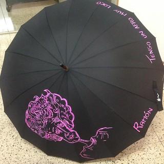Paraguas caricatura.