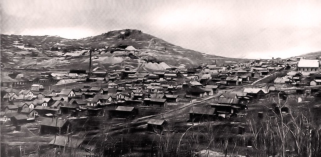 City Of Colorado Springs >> Town of Goldfield, Colorado - 1900 | Bull Hill and town of I… | Flickr