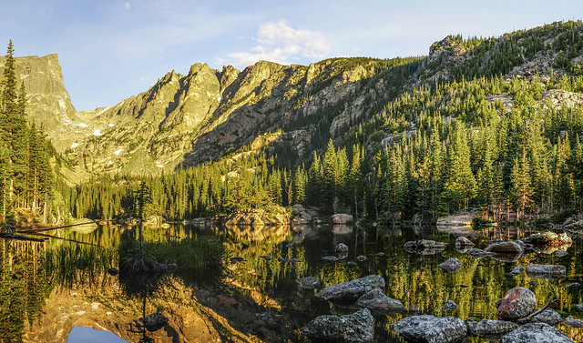 Dream Lake - Reflection