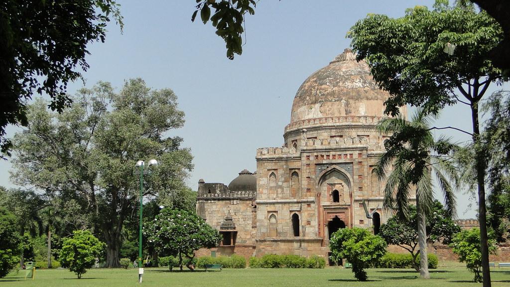 Lodhi Gardens tourist places in Delhi
