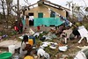 In Haiti, hurricane Matthew killed more than 400 people and left thousands of families with nowhere to live. It destroyed crops and decimated livestock, all of which will deprive people of their livelihood. In addition to the €255 000 the EU pledged when Matthew made landfall in Haiti, the EU further stepped up its commitment by allocating €1.5 million in funding to provide humanitarian essentials such as temporary shelters, health services, safe drinking water and sanitation.  Photo: © EU/ECHO/J. Torres