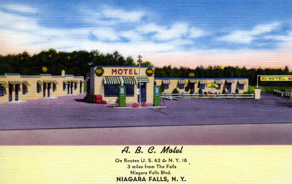 Abc Motel Niagara Falls Ny Located 3 Miles From The Scenic