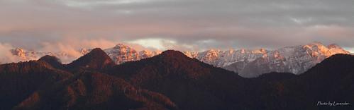 sunset taiwan 夕陽 台灣 苗栗 泰安 觀霧 聖稜線 雪山山脈 大鹿林道