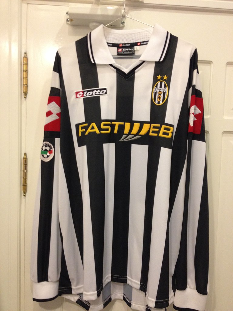 best website 33b85 11b80 Juventus Del Piero Matchworn Issued Shirt 2001 / 02 | Flickr
