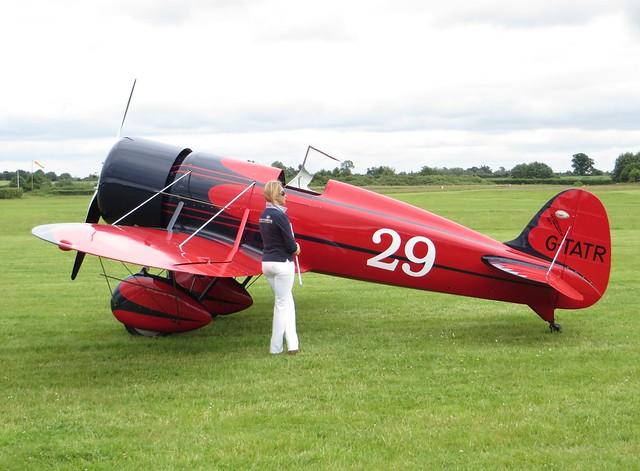 G-TATR LAA Airshow Old Warden 15 June 2014
