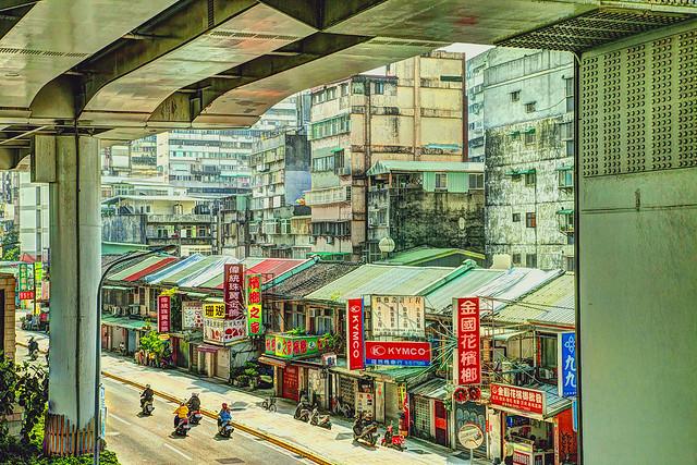 Urban Taipei landscape