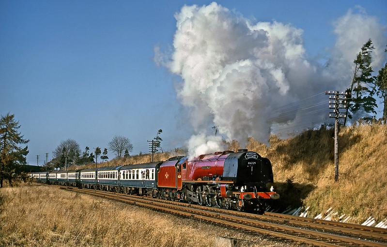 Near Cotehill on 31 October 1981.