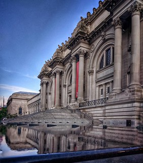 Waiting Fiamma At The Met  #NewYork #nyc #Morning #Day #travelgram #travel #sky #Photo #photography #Museum #architecture #archilovers #colorful #bluesky #reflection #beautiful #iloveny #ilovenyc #newyorkphoto #instacool #instanewyork #mynyc #bigapple #th | by Mario De Carli