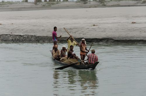pohardia assam india ferry majuliisland boat
