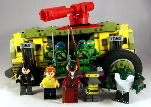 LEGO TMNT Family