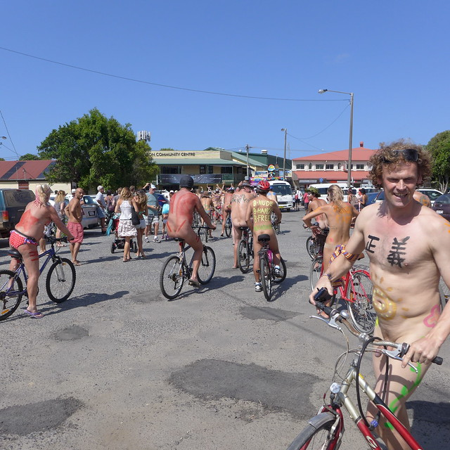 Byron Bay World Nude Bike Ride