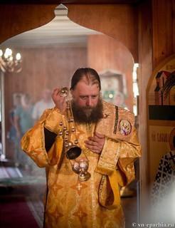 Божественная литургия в пос.Котово 170