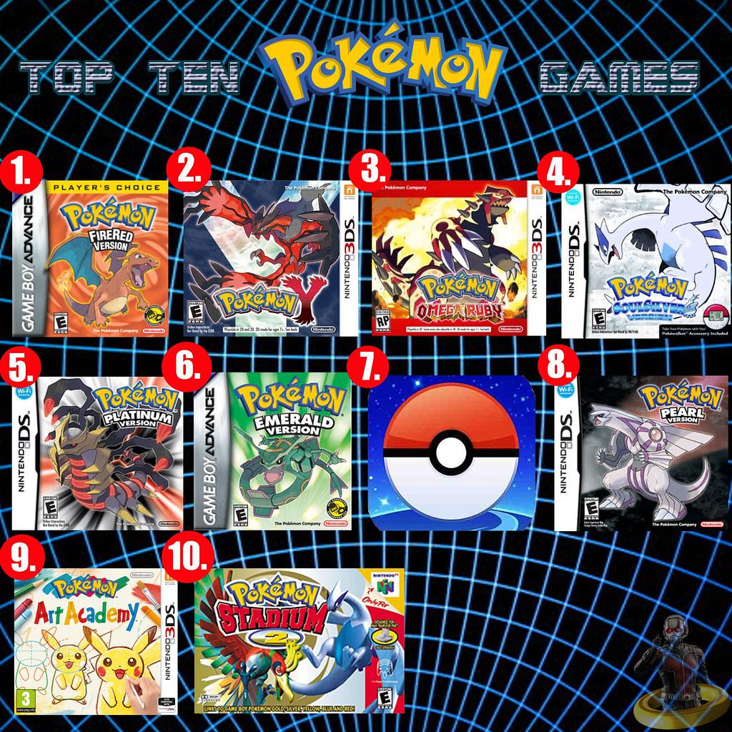 Top Ten Pokemon Games