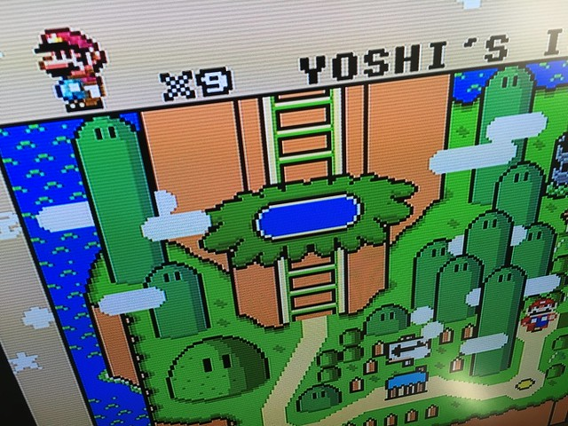 OSSC sample - Super Mario World