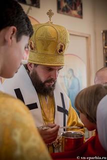 Литургия в Ильинском соборе 580